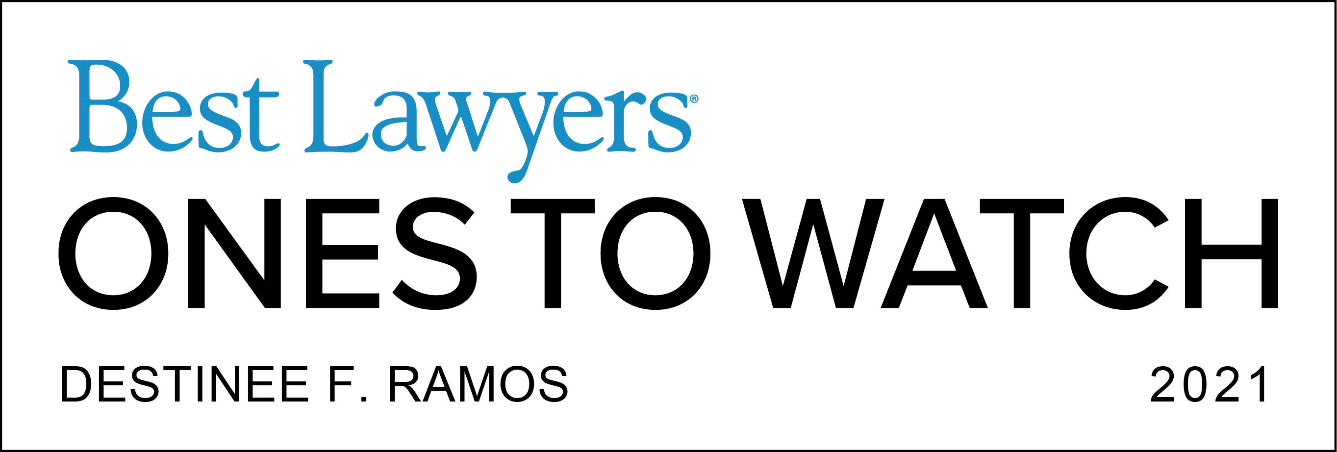 Best Lawyers: Ones to Watch (2021)